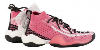 Adidas X Pharrell Williams Pink Cloth Trainers