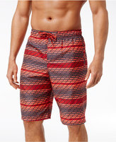 Nike Men's Swift Striped Volley Swim Trunks, 11""