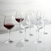 Crate & Barrel Set of 8 Nattie Red Wine Glasses