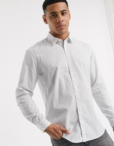 Esprit shirt in long sleeve with ditsy print