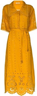 Charlotte midi shirt dress