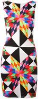 Mara Hoffman geometric print dress - women - Polyester/Spandex/Elastane/Modal - S