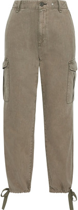 Rag & Bone Cotton And Tencel-blend Twill Tapered Pants