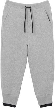 Burberry Boy's Double Ribbed Logo Patch Sweatpants, Size 3-14