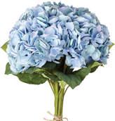 OKA Faux Blue Pimpernel Hydrangea Bunch