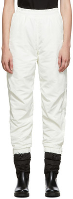 MONCLER GRENOBLE Off-White Apres-Ski Lounge Pants