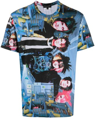 Comme des Garcons digital print T-shirt
