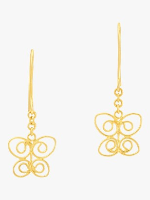 Pippa Small Burmese Butterfly Earrings