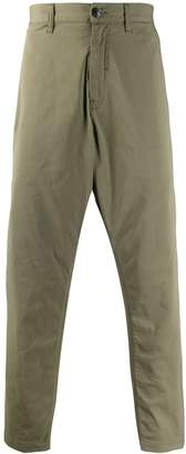 Stone Island Shadow Project plain casual trousers
