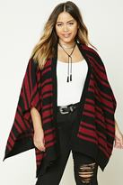 Forever 21 Plus Size Stripe Shawl