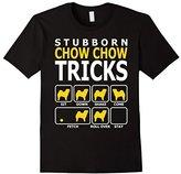 Special Tee Men's Stubborn Chow Chow Dog Tricks T-Shirt Medium