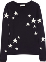 Star intarsia cashmere sweater
