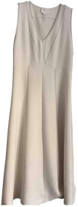 Pablo Ecru Cotton Dress for Women