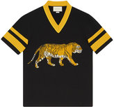 Gucci Cotton t-shirt with tiger - men - Cotton - L