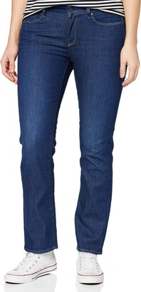 G Star Women's 3301 Contour High Rise Straight Benwick Stretch Denim Dark Aged Jean