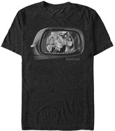 Fifth Sun Tee Shirts BLACK - Jurassic Park Black 'Objects in Mirror' Tee - Adult
