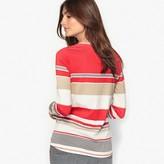 Anne Weyburn Striped Cotton & Modal T-Shirt