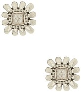 Lagos Sterling Silver Pret-A-Porter Pave Diamond Square Stud Earrings - 0.08 ctw
