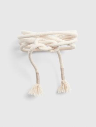 Gap Rope Tie-Belt