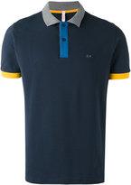 Sun 68 contrast polo shirt - men - Cotton/Spandex/Elastane - S