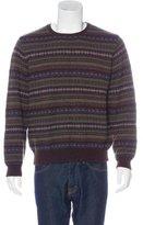 Ralph Lauren Purple Label Fair Isle Cashmere-Blend Sweater