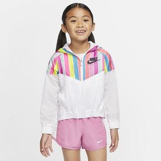 Nike Little Kids' Jacket Sportswear Windrunner