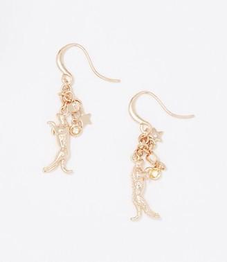 LOFT Leopard Print Drop Earrings
