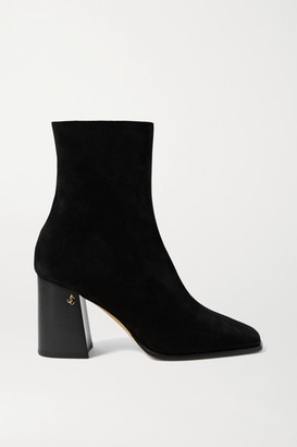 Jimmy Choo Bryelle 65 Suede Ankle Boots - Black