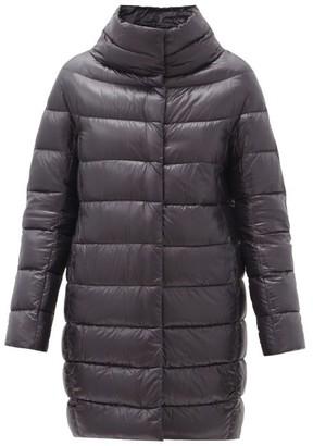 Herno Dora Quilted Down Coat - Black