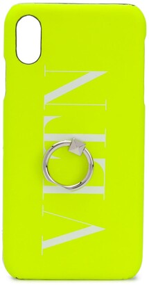 Valentino VLTN logo-print iPhone XS Max case