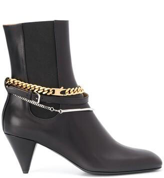 Jil Sander Chain Link Ankle Boots