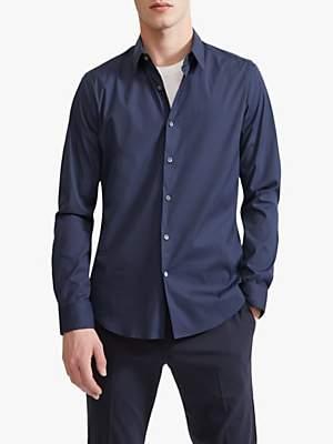 Theory Sylvain Stretch Cotton Shirt