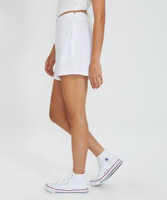 Don't Ask Amanda Rayne Runner Shorts White