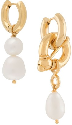 Timeless Pearly Pear Drop Earrings