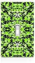 MWCustoms Neon Green Digital Urban Camo Light Switch Plate