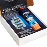 Gillette Fusion® ProGlide® Manual Razor Blade Refill Pack 4 Count With Shave Gel Subscription Pack