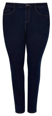 Dorothy Perkins Womens Dp Curve Indigo 'Ellis' Denim Jeans