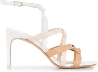 Sophia Webster Woven Cross Strap Sandals