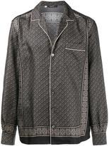Dolce & Gabbana tile print pyjama shirt - men - Silk - 40