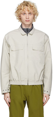 GR10K Beige Detachable Sleeves Windstopper Jacket