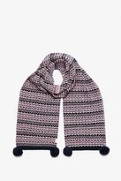 Jack Wills Crathorn Fairisle Knit Scarf