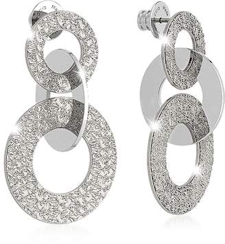 Rebecca R-ZERO Rhodium Over Bronze Earrings