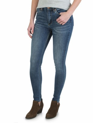 Wrangler Womens Retro Premium High Waisted Skinny Jean