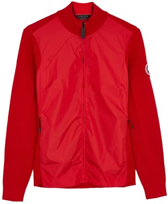 Canada Goose Windbridge Red Merino Wool Jacket