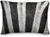 Ddcg Zebra Fur Close Up Throw Pillow