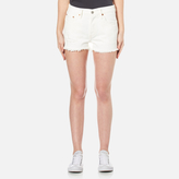Levi's Women's 501 Denim Shorts With the Band