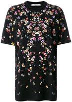 Givenchy Columbian-fit poppy print T-shirt - women - Cotton - XS