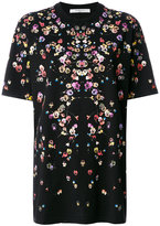 Givenchy Columbian-fit poppy print T-shirt