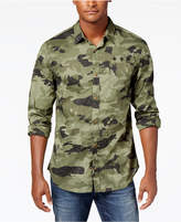 Buffalo David Bitton Men's Camo Graphic-Print Shirt
