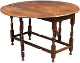 One Kings Lane Vintage Antique English Oak Gate-Leg Table